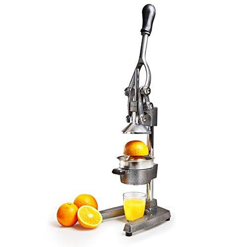 Lumaland Exprimidor de Cítricos Profesional - Exprimidor de Naranjas, Frutas, y Zumo a Mano