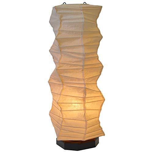 美濃和紙製 テーブルライト スモールライト ミニスタンド boko ボコ 石原揉み紙 手作り 間接照明 和風照明 和紙照明