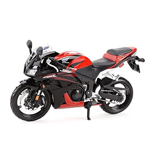 SRJCWB Modelo Motocicleta 1︰12 para Honda CBR600RR Colección De Motocicletas De Fundición A Presión Estática Deportiva Hobby Boy Girl Regalo