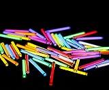 Fdittt 1 pcs Trit Vials Tritium Multicolor Self-Luminous for Bicycle Outdoorliving Light Decoration with Glue (Pink,1.56mm)
