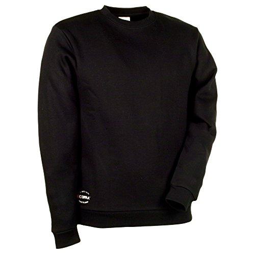 Cofra sweatshirt met rekbaar weefsel AGADIR V109 robuuste trui 4XL, zwart, 40-00V10900-XXXXL