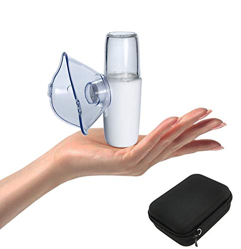 Mini Travel Humidifier Machine Kit with Carrying Case for Kids and Adults, Portable Steam Handheld Inhaler
