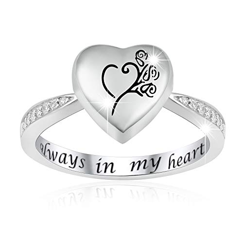 always in my heart ring - 5