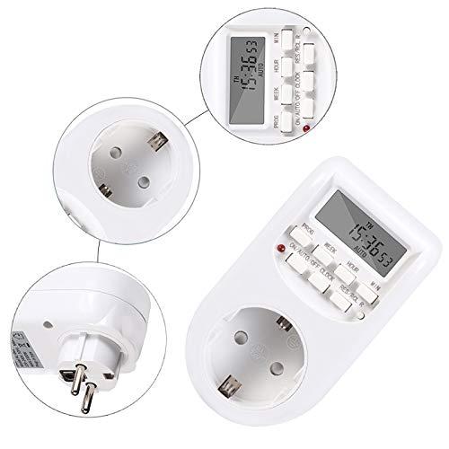 HMY Timer Digitale Elettronico Interruttori Timing UE Presa di Corrente Kitchen Timer Uscita Programmabile Intelligente Socket