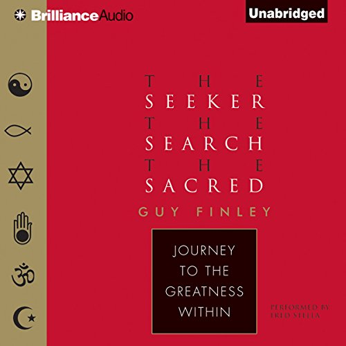 The Seeker, the Search, the Sacred audiobook cover art