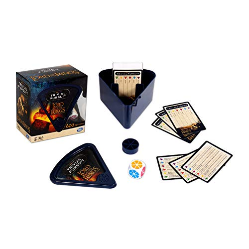 Winning Moves Lord of the Rings Trivial Pursuit Game