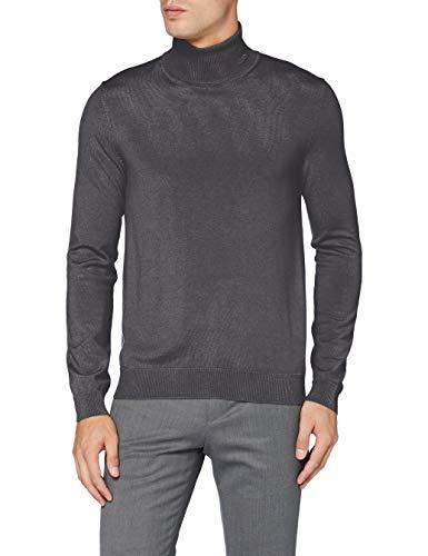 HUGO Herren Sweater San Thomas 2, Charcoal (16), XL