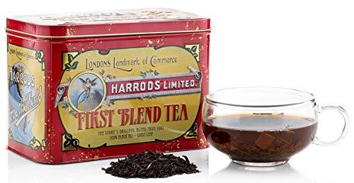 HARRODS of London - Archive Collection - First Blend Tea / Archiv-Sammlung Erste Mischung Tee - 250gr Dose (Lose blatt)