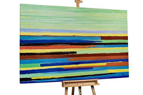 Kunstloft® Extraordinario Cuadro óleo 'At The Fairground'