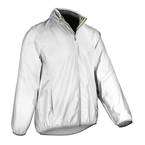 Spiro - Reflektierende Unisex Jacke 'Reflec-Tex Hi-Vis' / Neon White, L