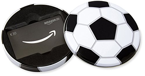 Amazon.de Geschenkkarte in Geschenkbox - 30 EUR (Fussball)