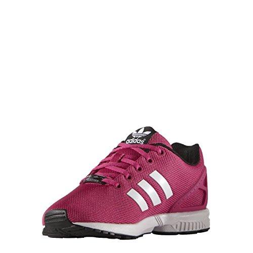 adidas Originals Adidas ZX Flux K S74952, Scarpe da Ginnastica Basse Unisex-Adulto, Multicolore (Eqtpin/Ftwwht/Cblack), 36 2/3 EU