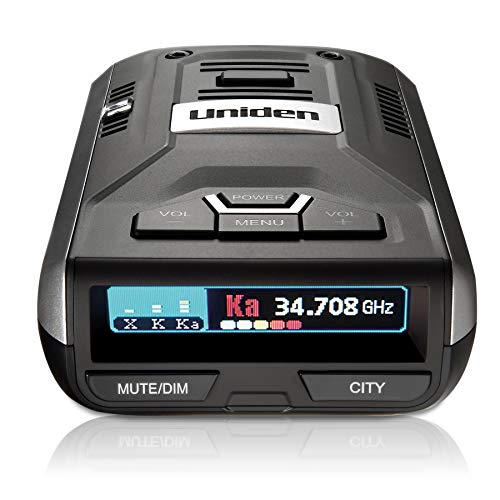 Best Deals! Uniden R1 Extreme Long Range Radar Laser Detector 360 Degree, DSP, Voice Alert Silver