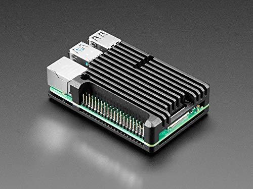 AdaFruit Aluminum Metal Heatsink Raspberry Pi 4 Case - Without Fans