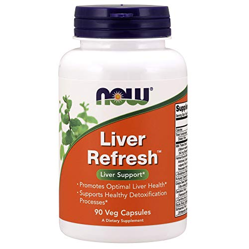 NOW Supplements, Liver Refresh with Milk Thistle Extract and unique...