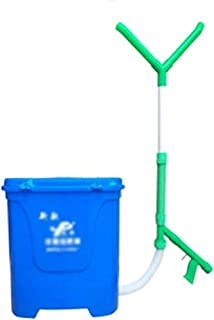 Fertilizer Spreader, Lawn Garden Spreaders/Salt Spreaders/Grit Spreader/Handheld Spreader, 20l/25lCapacity, for Seed, Fert...