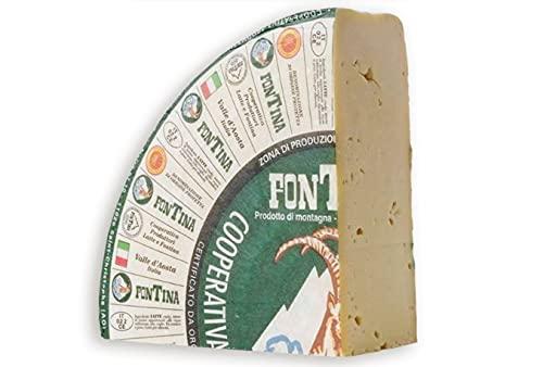 Queso Italiano Brazzale Fontina dop. Pack 2 X 2,5KG.