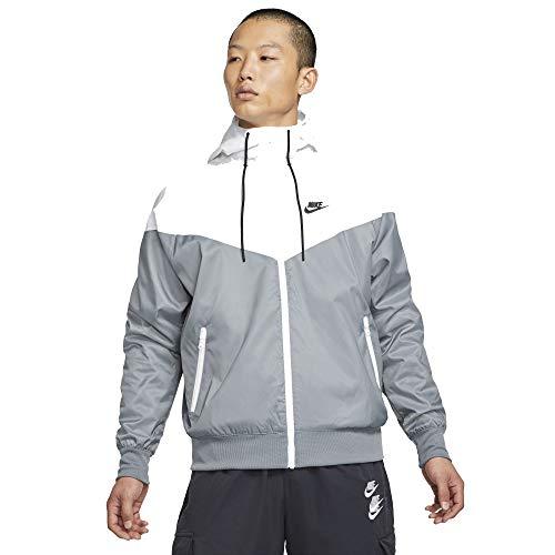 Nike He Wr Hd Unterjacke smoke grey/white/smoke grey/bl XL