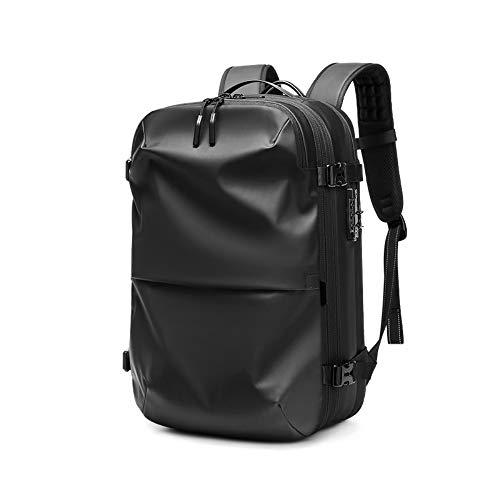 Laptop Backpack 17 Inch Waterproof College Bag School Daypack Bookbag for Women Men (Black,L)