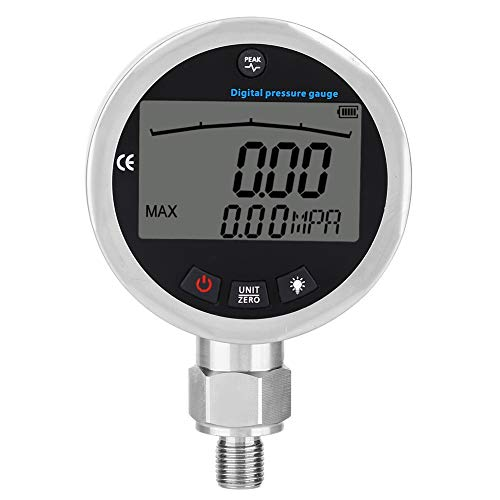 Manometer - 400bar 0-40Mpa 10000PSI Digitales HydraulikdruckmeSsgerät mit G1 / 4-Anschluss
