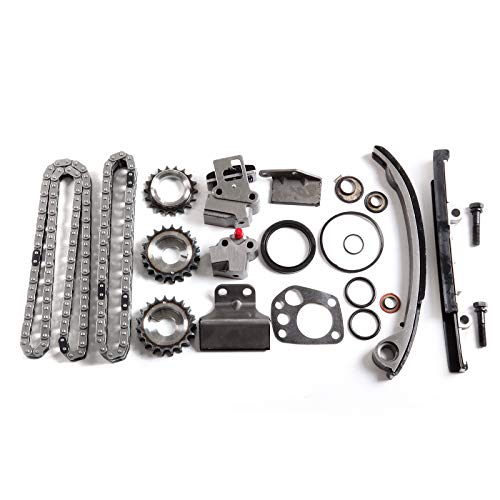 OCPTY Timing Chain Kit fits for 9-4180SX 240SX Altima 2.4L 1991-1998
