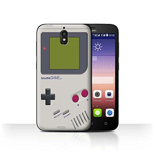 Hülle Für Huawei Y625 Spielkonsolen Nintendo Game Boy Design Transparent Ultra Dünn Klar Hart Schutz Handyhülle Case