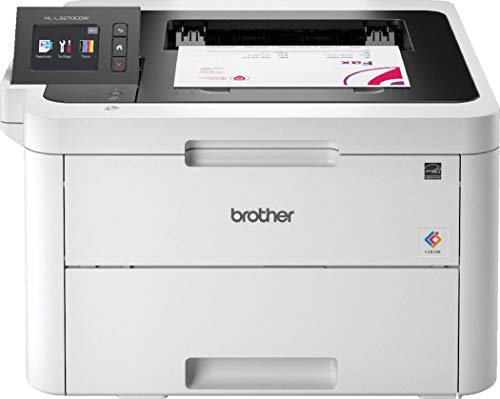 Brother HLL3270CDWYY1 Stampante a Colori LED, 24 ppm, Wi-Fi, Ethernet, NFC, USB 2.0 Hi-Speed, Cassetto Carta 250 Fogli, Display LCD Touchscreen, Inbox Toner da circa 1.000 Pagine per Colore, Duplex
