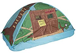 professional 19790 Pacific Play Tent Kids Tree House Bed Tent Playhouse – Twin Size