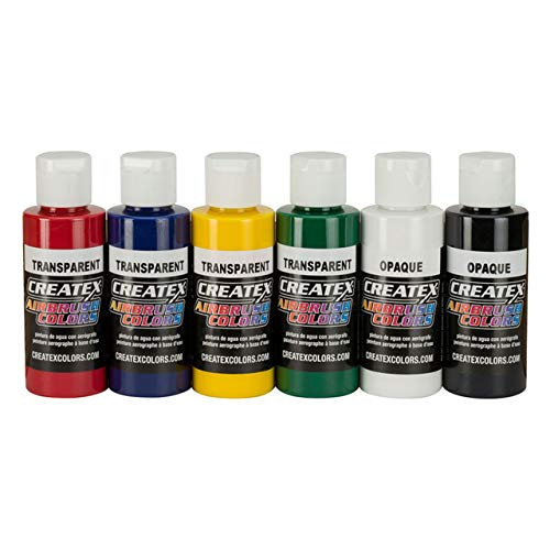 Createx \'Transparent\' Starter Set ( Createx Airbrush Colors ) 115199 Airbrushfarbe