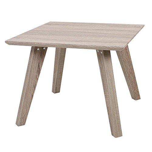 Fusion Living Table d'appoint de Style rétro Bois de placage