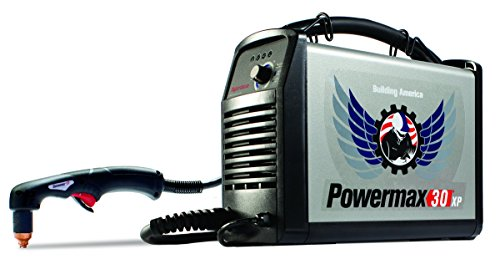 Hypertherm 088079 Powermax30 XP Building America Edition Hand Plasma System with Case and 15-Feet...