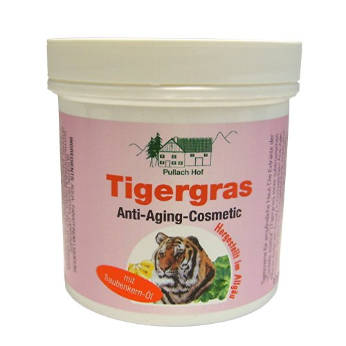 Pullach Hof Tigergras Creme Anti Aging Cosmetic 250 ml