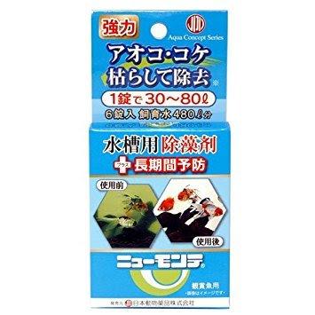 ニューモンテ 水槽用 6錠(青) 日本動物薬品
