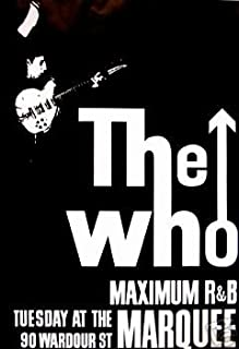 Best the who marquee poster Reviews
