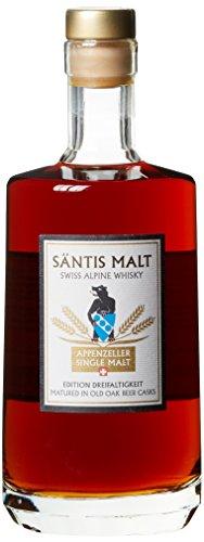 Säntis Malt Appenzeller Single Malt Edition Dreifaltigkeit Whisky (1 x 0.5 l)
