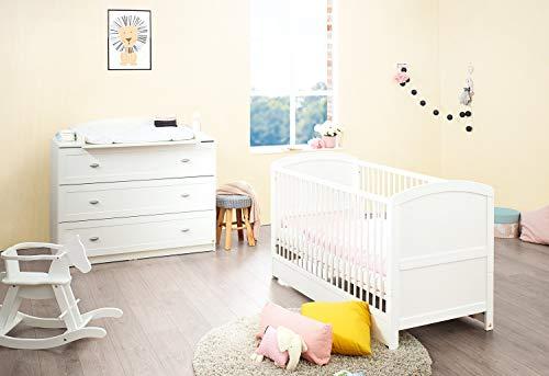 Pinolino 090025B Sparset 'Laura' breit, weiß