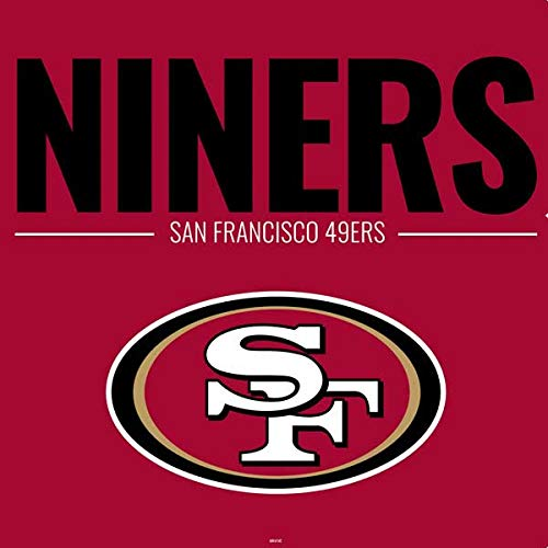 Skinit NFL San Francisco 49ers PS4 Console Skin - San Francisco 49ers Team Motto Design - Ultra Thin, Lightweight Vinyl Decal Protection