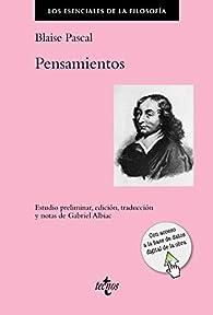 Pensamientos par Blaise Pascal