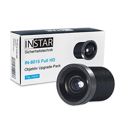 INSTAR 2,8mm Super-Weitwinkelobjektiv IN-8015 Full HD/IP Kamera/Überwachungskamera/Objektiv/Zubehör/größerer Blickwinkel/Weitwinkel/S-Mount / M12xP0.5