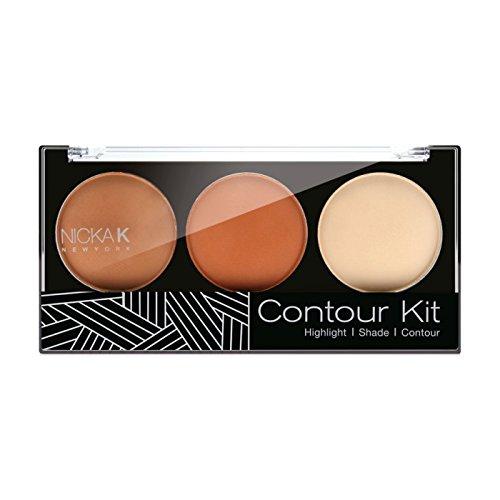 (6 Pack) NICKA K Contour Kit - Shade 02