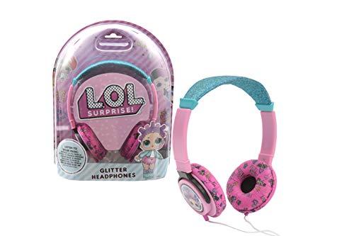 Inconnu- LOL 8056379071433 Kopfhörer mit Pailletten, Mehrfarbig
