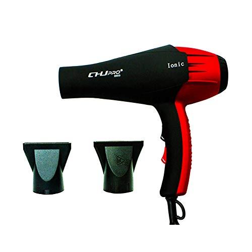 Leistungsstarker Haartrockner, AC 2300W, professionelle Negativ-Ionen-Technologie, 2 Düsen, mit Heiß-Kaltluft, für Zuhause und Salon, UK-Stecker