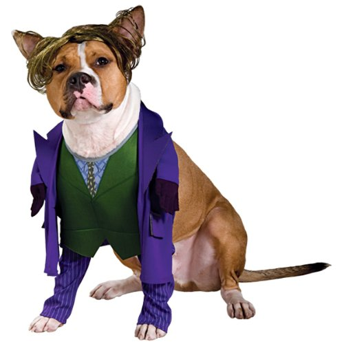 Batman Joker Dog Costume For X-Large Dogs