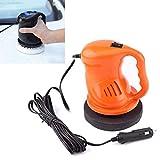 Esponja para pulidora de automóviles Coche eléctrico Pulidora Encerado Máquina Juego de automatización de limpieza de coches Pulido ABS Accesorios for el coche (naranja)