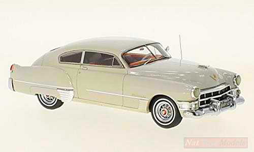 Neo Scale Models Model KOMPATIBEL MIT Cadillac Serie 62 Club Coupe Light Grey 1:43 DIECAST NEO49547