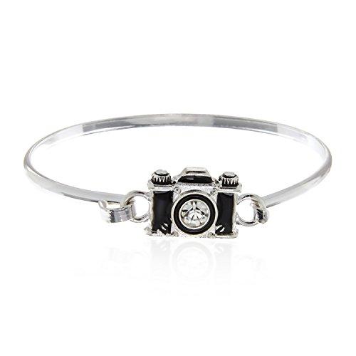 PammyJ Gift for Photographer Camera Bracelet Women Girls