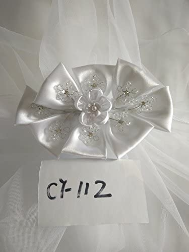 Beautiful and One of a Kind First Communion Veil