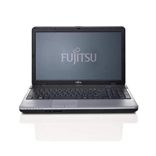 Fujitsu Lifebook A531 39,6 cm (15,6 Zoll) Laptop (Intel Core i3 2328M, 2,2GHz, 2GB RAM, 320GB HDD, Intel HD 3000, DVD, Win 7 Pro) schwarz/silber