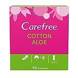 Carefree Salvaslip Cotton Aloe 56 unidades 150 g - Pack de 5