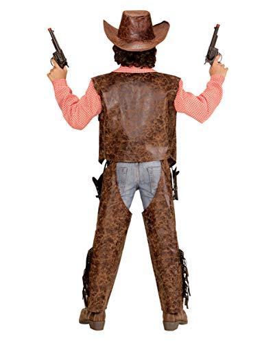 Horror-Shop Disfraz De Nio Vaquero De 3 Piezas M 140